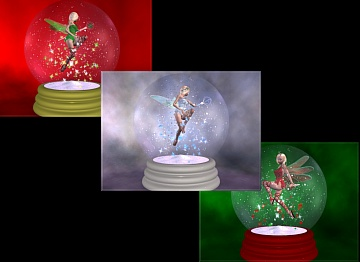 Download Christmas Fairies wallpaper