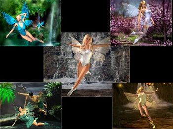 Download Fairies of Mystic Waters wallpapers